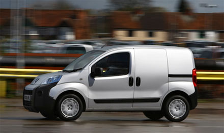 Peugeot's sparky little Bipper – the small van that thinks big