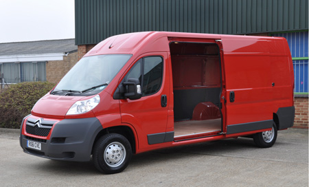 Citroen's Relay has large-load pulling power
