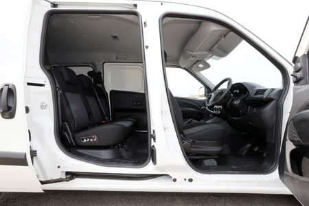 Vauxhall Combo can pack crew and cargo