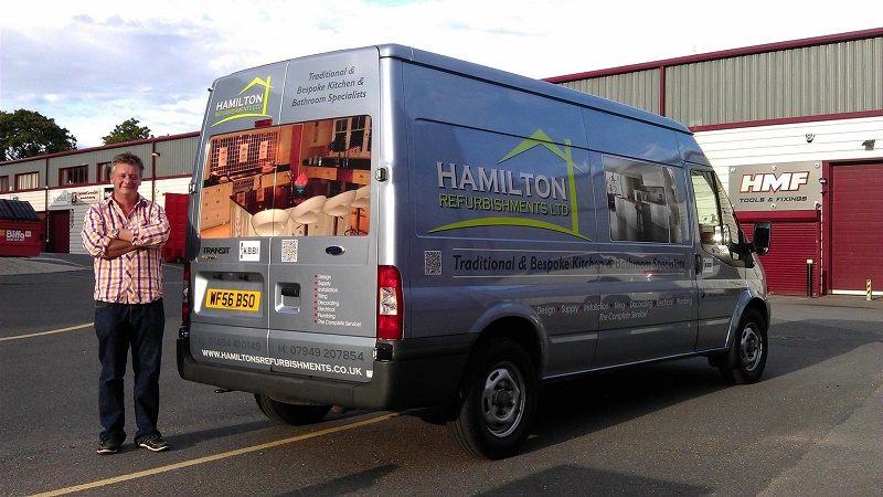 signwriting Hamilton Refurbishments