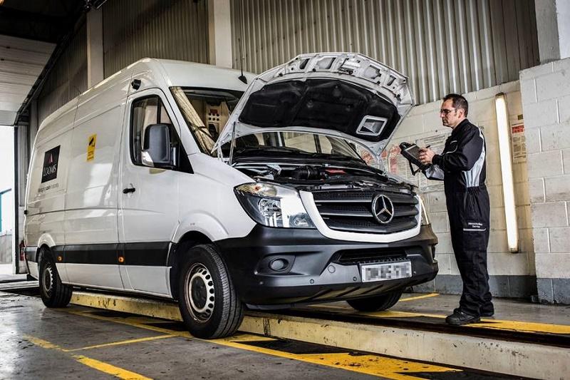 Loomis Mercedes workshop