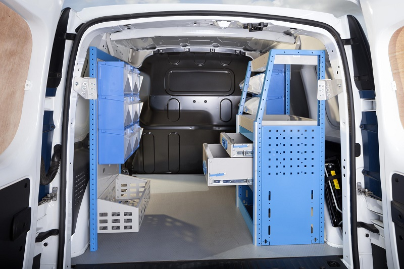 Renault Kangoo now available with Ready4Work racking and storage solutions 2