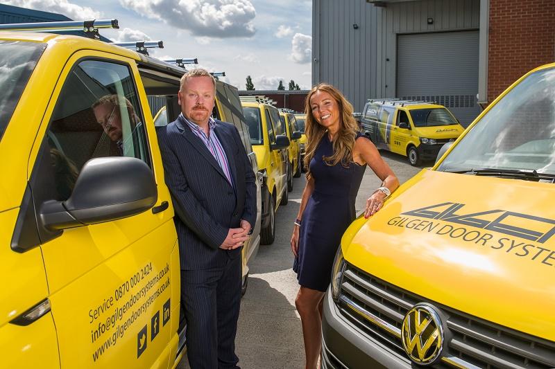 Ogilvie first 20 VW Transporters to Gilgen Door Systems UK