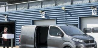Peugeot van loading up