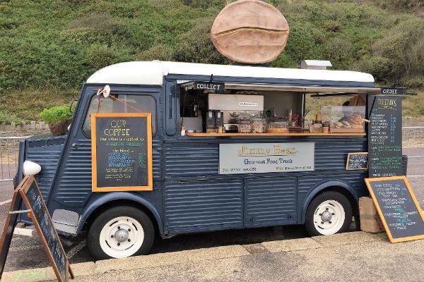 Jimmy Bean coffee van