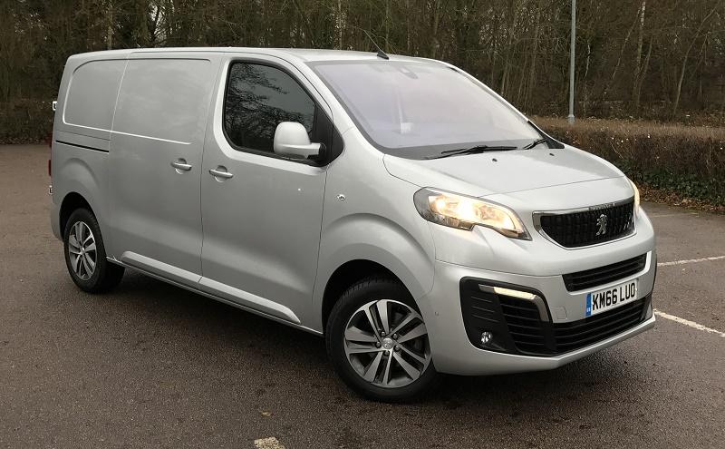 Peugeot Expert 2017 front