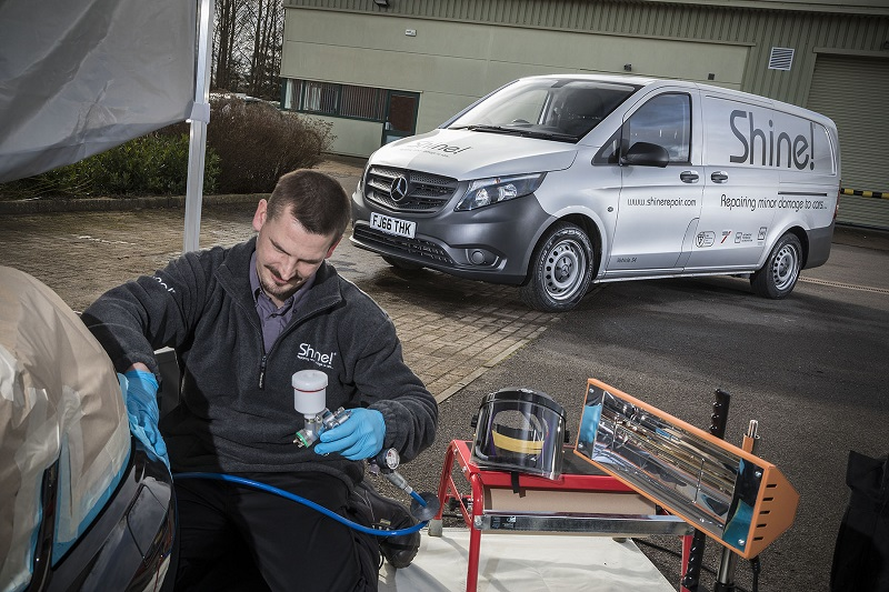 Vito 114 Bluetec shine 5 signwriting