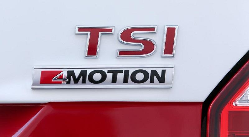 Transporter TSI badge