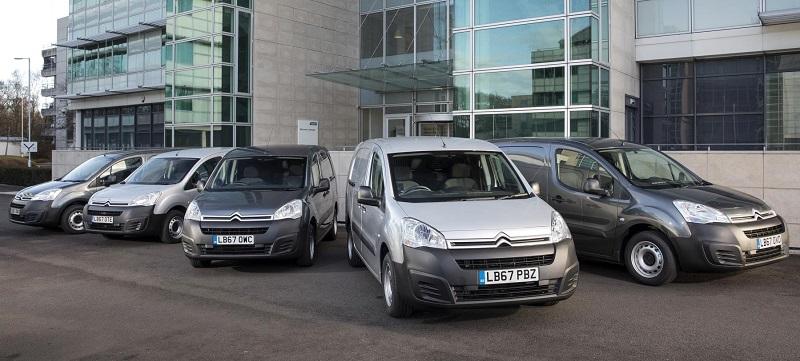 Citroen McCormick fleet order vans