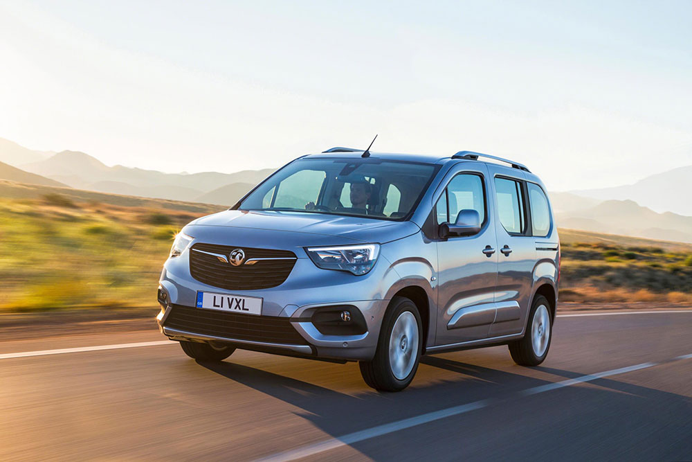 Vauxhall Combo Life action