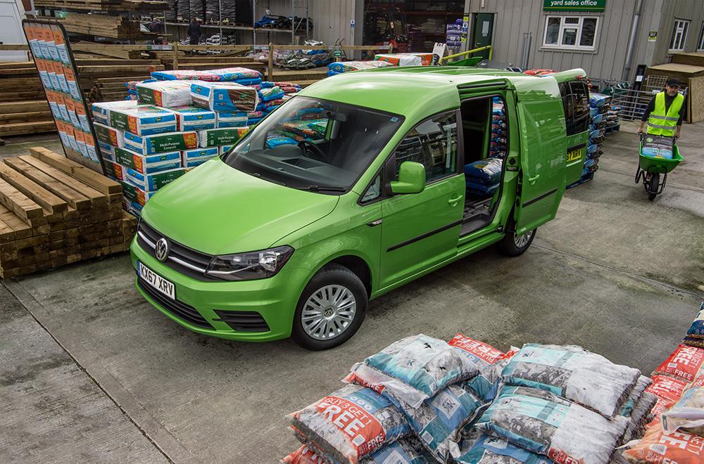 VW Caddy van leasing story
