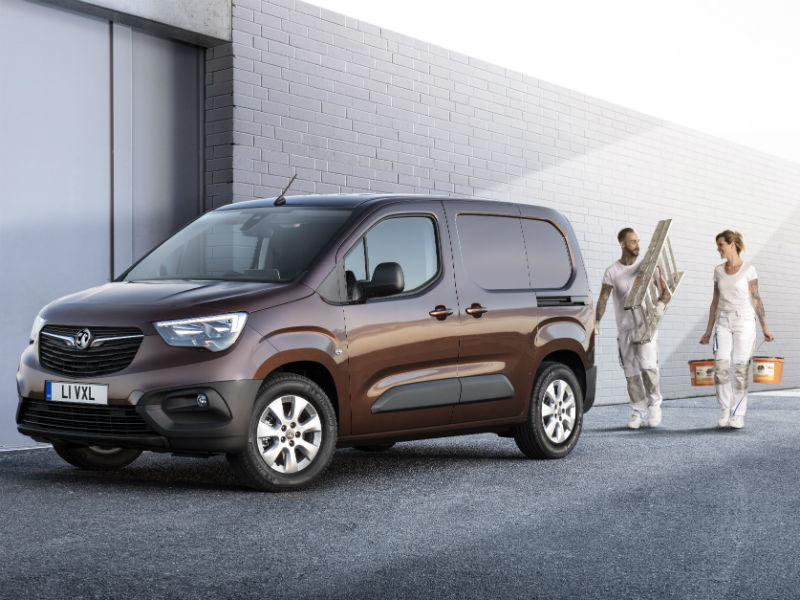Vauxhall Combo with trades people