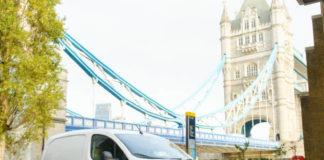 Van in London