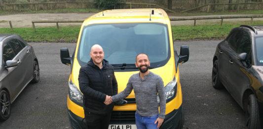 KeyFinance helps TCB Designs of Burnley buy a new Ford Transit Custom