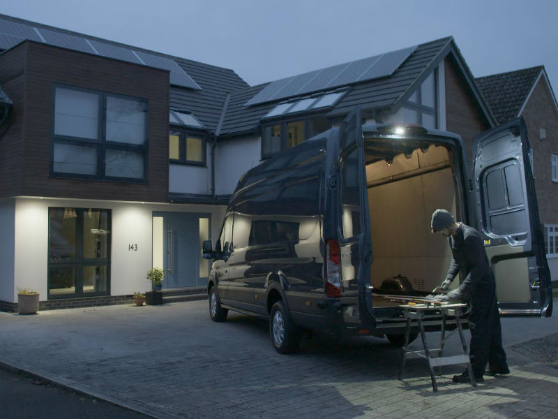 New Ford Transit LED downlighter