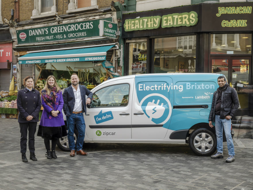 londons first shared zipcar e van business scheme launches in brixton