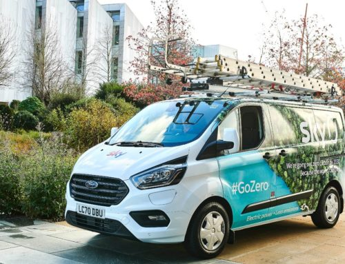 Ford Transit takes to the Sky