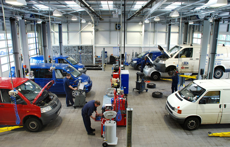 VW workshop