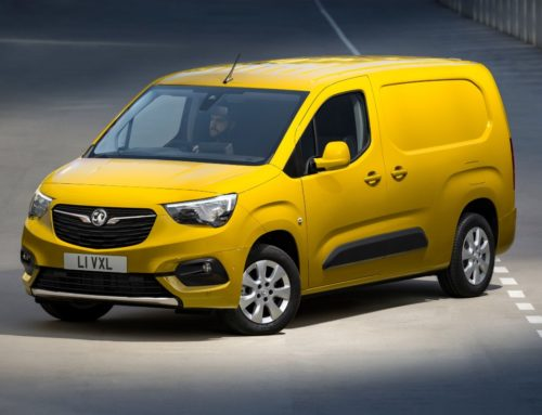 Vauxhall shows off electric Combo