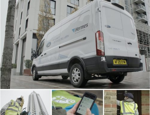Ford Teams Up with Hermes to make online shopping more sustainable