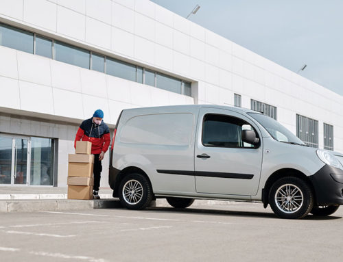 What are the biggest challenges that business van drivers face during peak season?