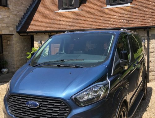 All aboard the new Ford Tourneo Custom Active